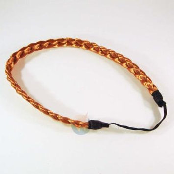 Hair Braids Braided Headband Fashion Plaits Hairband Bands - Golden Blond