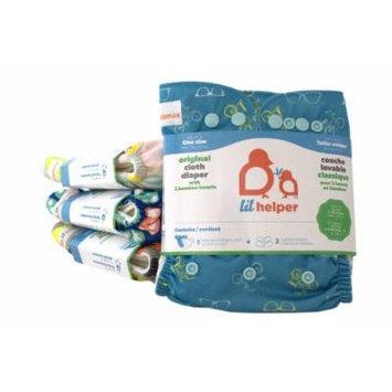 Bamboo Cloth Diapers - Prints (Retro Bikes)