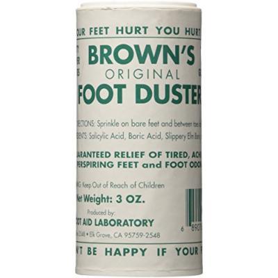 Brown's Original Foot Duster (Foot Duster, 3 Oz)