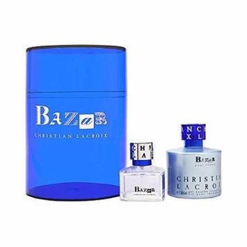 Bazar Pour Homme by Christian Lacroix for Men 2 Piece Set Includes: 1.7 oz Eau de Toilette Spray + 6.6 oz All Over Shampoo