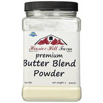 Hoosier Hill Farm Butter Blend powder (Low fat), 1 lb