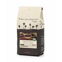 Portland Roasting Coffee Organic Whole Bean Coffee, French, 12 Ounce