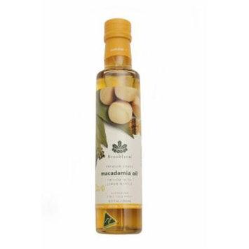 Brookfarm Lemon Myrtle Infused Macadamia Nut Oil , 8.5-Ounce Bottles (Pack of 3)