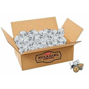 Hula Girl 100% Kona Coffee Single Servings - K-Cup box of 100