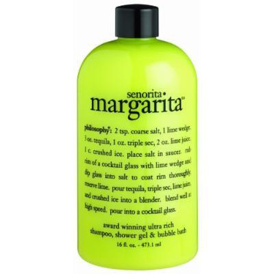 Philosophy Senorita Margarita Shampoo/Shower Gel/Bubble Bath, 16 Ounces