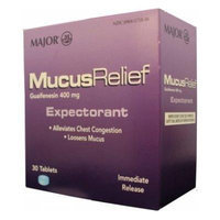Mucus Relief Tablets 30ct (Compare to Mucinex)