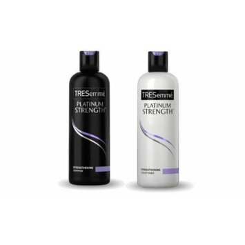 TRESEMME PLATINUM STRENGTH SHAMPOO AND CONDITIONER COMBO SET 25OZ **Package May Vary**