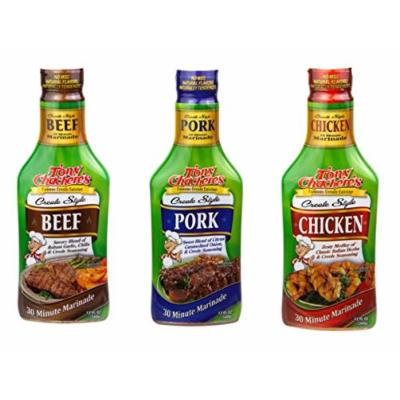 Tony Chachere Pourable Marinades, Variety Pack, 3 Count