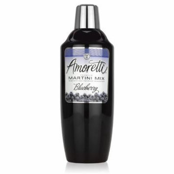 Amoretti Cocktail Mix, Blueberry, 28 Ounce (Pack of 12)
