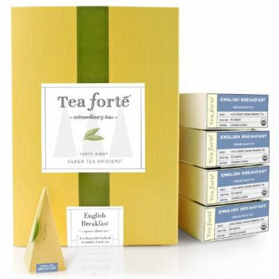 Tea Forté® Event Box - 48 Silken Pyramid Infusers - English Breakfast