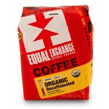 Equal Exchange Organic Coffee, Decaf, Whole Beans, 12 Ounces