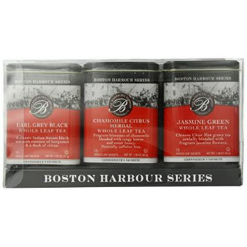 Boston Tea in Pyramid Tins, 3 Count