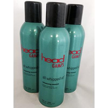 Head Games All Whipped up Volumizing Mousse, 10.5 Oz (Pack of 3)