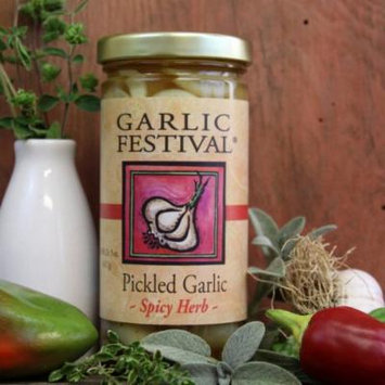 Spicy Herb Pickled Garlic (8 oz.)
