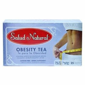 Salud Natural Obesity Tea 25 Tea Bags. Te Bajar De Peso Weight Loss