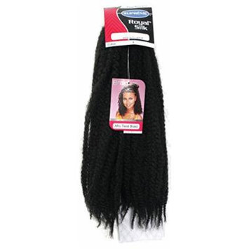 ROYAL SILK-AFRO TWIST BRAID-SUPREME-Burgundy Color-100% TOYOKALON