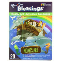 Noah's Ark Boo Boo Blessings Adhesive Bandages RETAIL BOX, Assorted Designs, 20 count