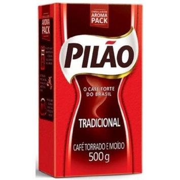 Café Pilão , The Full-Bodied Coffee From Brazil - Medium Dark Roast 17.60 OZ (500g)