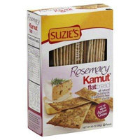 Suzies Kamut Flatbreads With Rosemary 4.5-Ounce Boxes (Pack of 12) - Pack Of 12