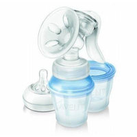 Philips Avent Natural Comfort Manual Breast Pump with 3 Storage Cups Scf330/12 Good Gift for Mom and Baby Fast Shipping Ship Worldwide
