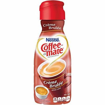 Coffee-mate Creme Brulee Non Dairy Coffee Creamer, 32 Oz (2 Pack)