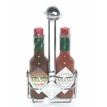 Tabasco Football Caddy with Tabasco Hot Sauce Gift Set