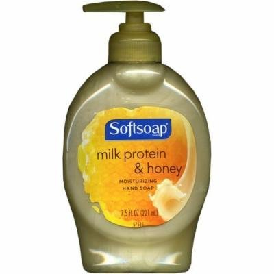 Softsoap Milk Protein & Honey Moisturizing Hand Soap 7.5 oz (6 Pack)