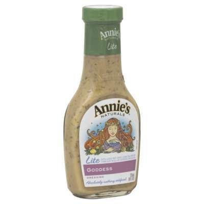 Annie'S Naturals Goddess Lite 8 Oz (Pack of 6) - Pack Of 6