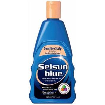 Selsun Blue Sensitive Scalp Shampoo, 11 OZ (PACK OF 3)