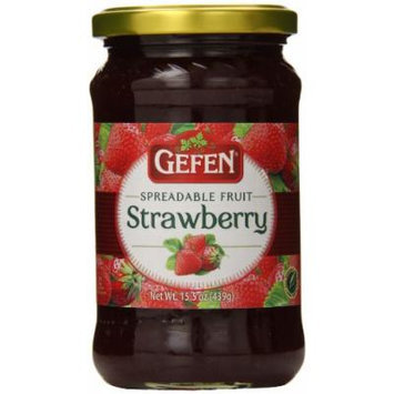 Gefen Strawberry Preserves, 15.5 Ounce, 15.5 Ounce