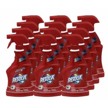RESOLVE 00601CT Triple Oxi Advanced Trigger Carpet Cleaner, 22oz Bottle (Case of 12)