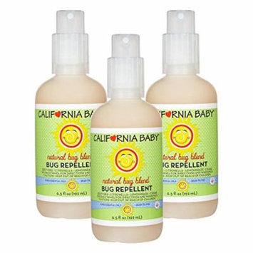 California Baby Bug Repellant Spray, 6.5 Ounce (3 Count)
