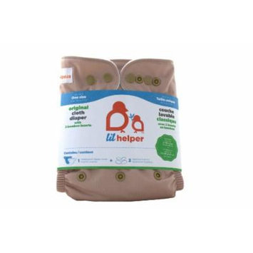 Bamboo Cloth Diapers - Solids (Chocolate Milk)