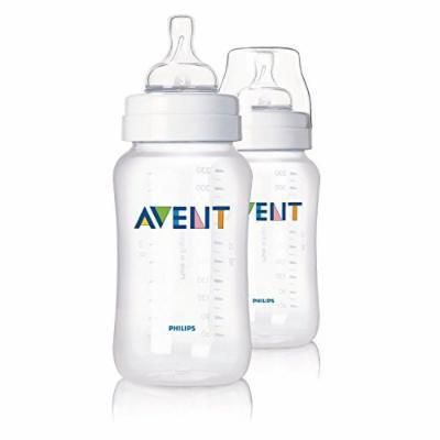 2 Avent 11 Oz Polypropylene (Pp) Bottles New, BPA Free