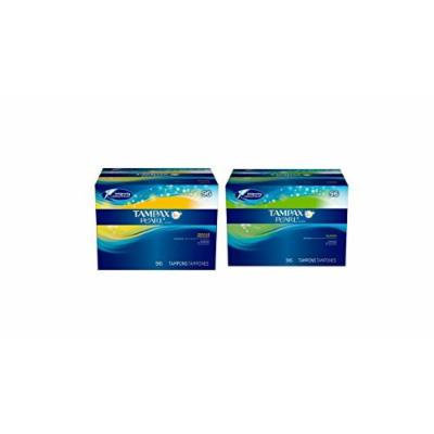 Tampax Pearl Unscented Tampons Regular Absorbency and Super Absorbency Combo pack