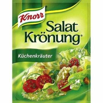 Knorr Kuchenkrauter Salad Dressing - Pack of 4 x 5 pcs ea.