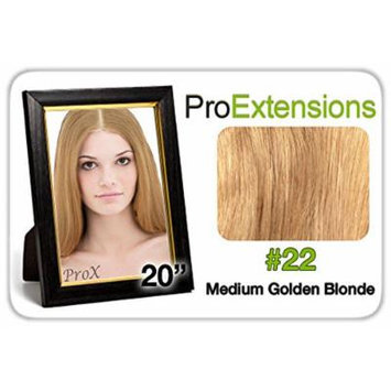 Pro Lace 20Inches #22 Medium Golden Blonde Size One