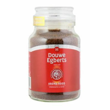Douwe Egberts Aroma Rood Instant Coffee, 200 gram Jars (Pack of 2)