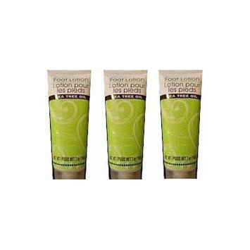 Foot Lotion with Tea Tree Oil (Pack of 3)