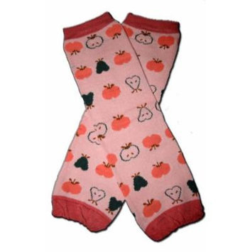 APPLES & PEARS FRUITS - Baby Leggings/Leggies/Leg Warmers for Cloth Diapers - Little Girls & Boys & ONE SIZE by