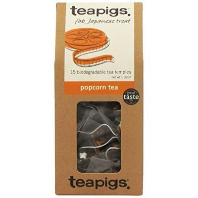 Teapigs Whole Leaf Tea (Popcorn, 15 temples)