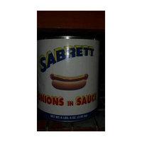 Sabrett: Onions in Sauce 6/104 Oz. Case