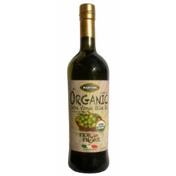 Mantova Organic Extra Virgin Olive Oil, 25.5-Ounce Bottles (Pack of 2)