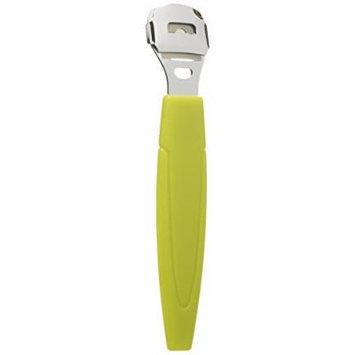 FitDio Pedicure Pro Callus Scraper Remover, Yellow, 2 Count