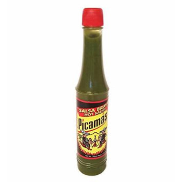 B&B Picamas Green Hot sauce 3.52 oz - Salsa verde picante (Pack of 1)