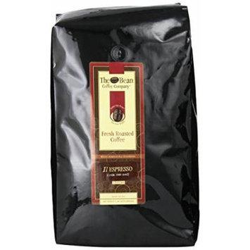 The Bean Coffee Company, Il Espresso Ground Coffee, 5-Pound Bags