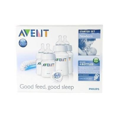 Philips Avent Scd271/00 Newborn Baby Bottle Starter Set / Kit / Pack Brand New Great Gift for Baby Free Shipping Ship Worldwide