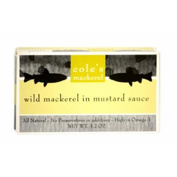 Cole's Wild Mackerel in Mustard Sauce (10 - Pack)