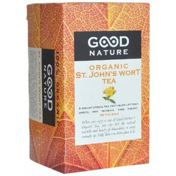 Good Nature Organic St. John's Wort Tea, 1.07 Ounce