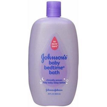 Johnson's Baby Bedtime Bath, 28 Ounce (Pack of 6)